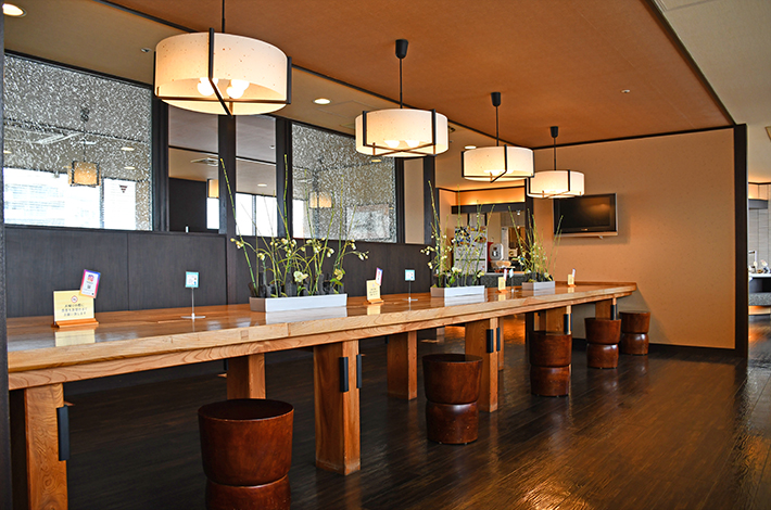 マンテンホテル10Fレストラン2